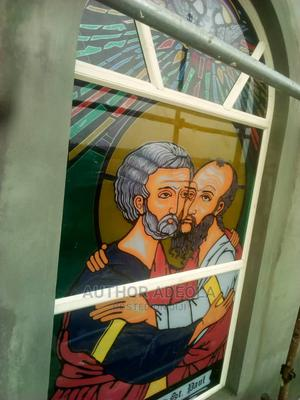 Peter and Paul Stain Glass Design | Windows for sale in Lagos State, Mushin