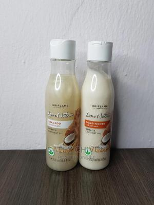 Love Nature Shampoo and Conditioner Wheat and Coconut Oil | Hair Beauty for sale in Lagos State, Lekki