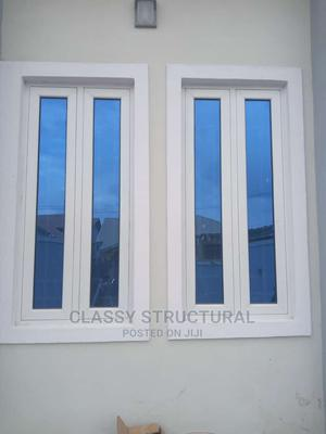 Aluminum Casement Window With Blue Glass | Windows for sale in Lagos State, Agege