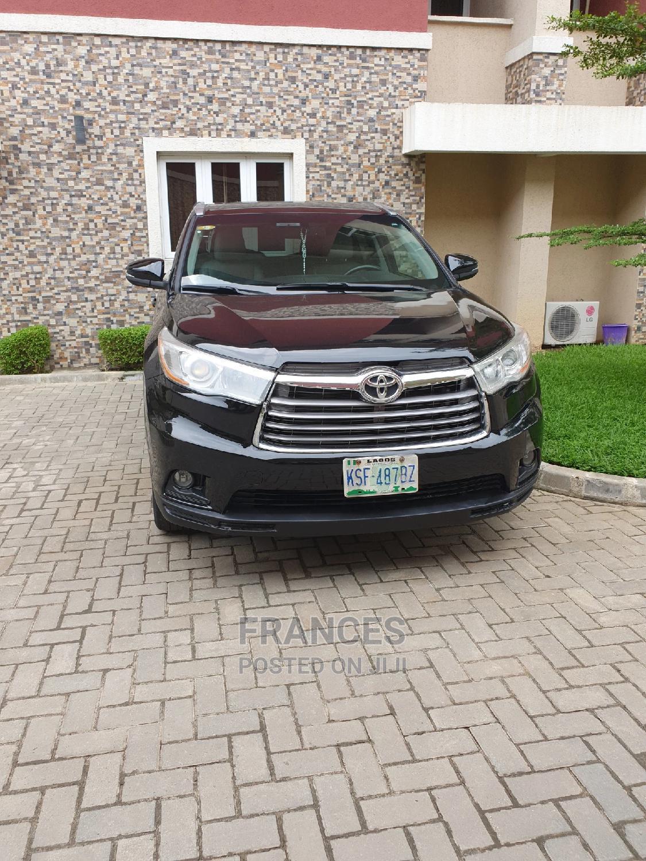 Toyota Highlander 2014 Black
