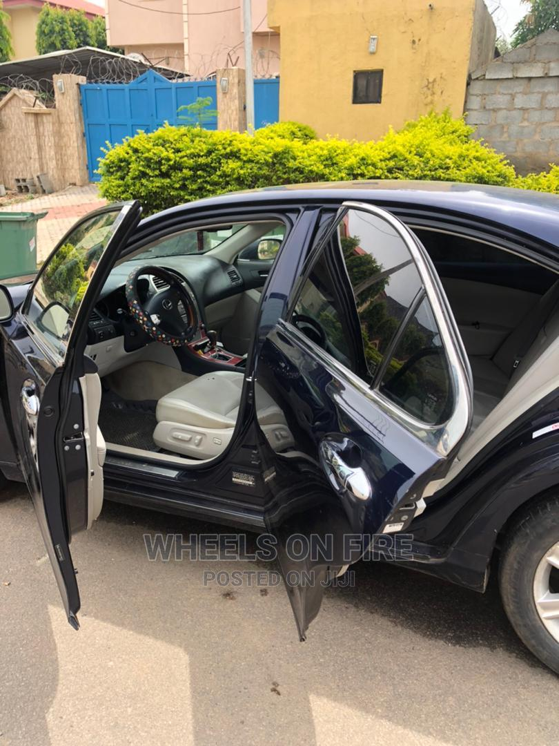 Lexus ES 2008 350 Blue | Cars for sale in Apo District, Abuja (FCT) State, Nigeria