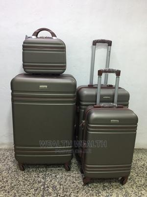 Ash Quality Zippered Good Partner Suitcase Luggage Bag   Bags for sale in Lagos State, Ikeja