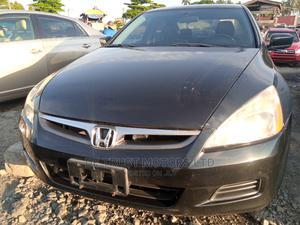Honda Accord 2007 Black   Cars for sale in Lagos State, Apapa