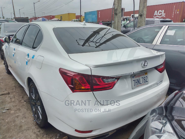 Lexus GS 2014 350 4WD White   Cars for sale in Apapa, Lagos State, Nigeria