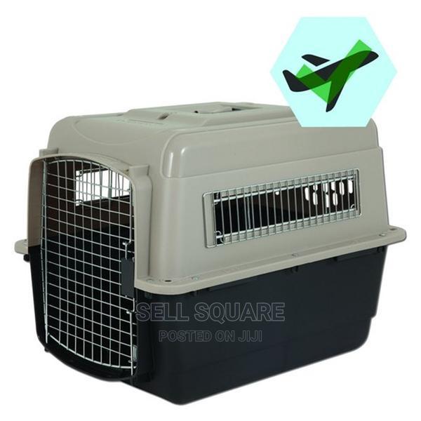 Petmate Ultra Vari Kennel 28X20.5X21.5inches 25-30 Lbs