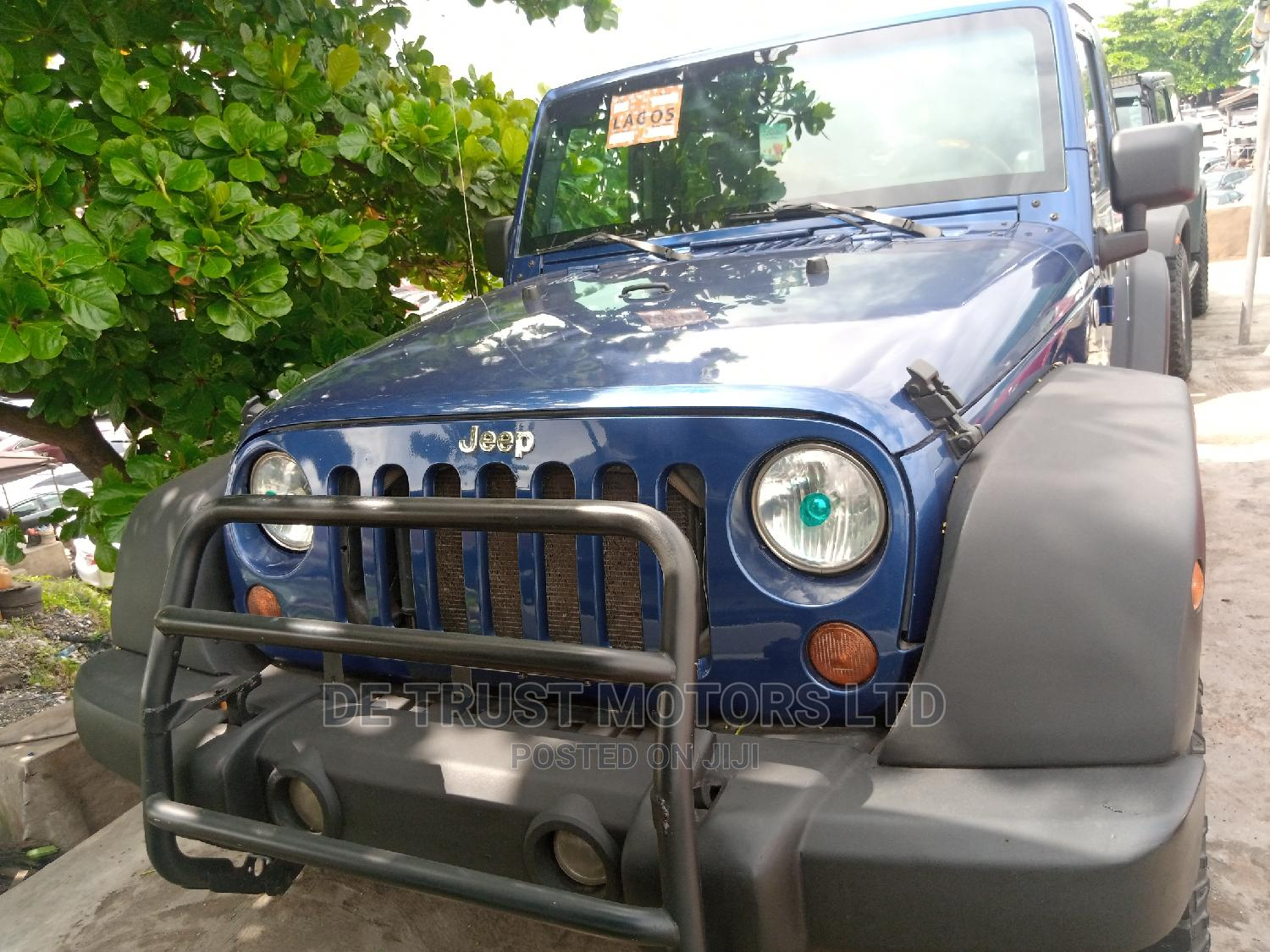 Jeep Wrangler 2010 Blue | Cars for sale in Apapa, Lagos State, Nigeria