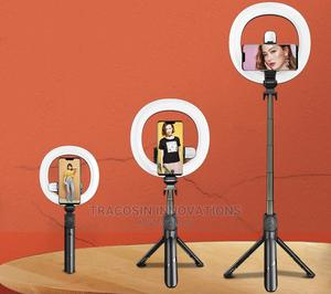 """Remote Control Tripod LED Ring Light 7.3"""" Inches 