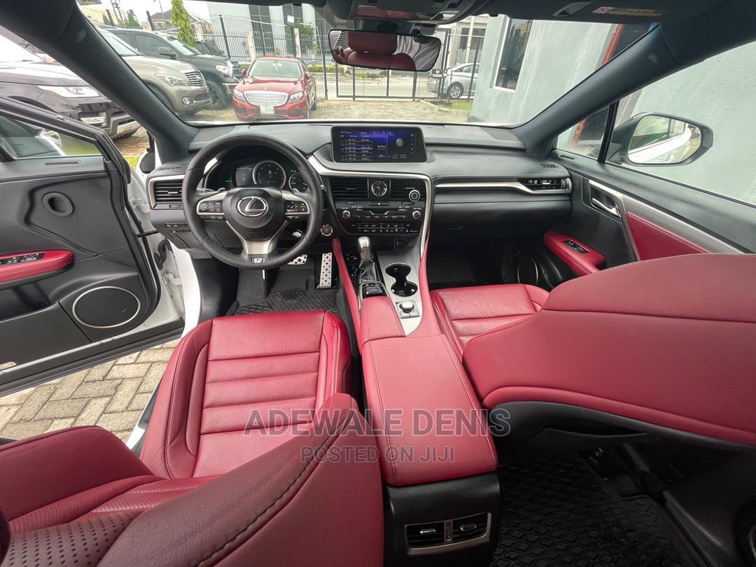 Lexus RX 2017 350 F Sport AWD White   Cars for sale in Ikeja, Lagos State, Nigeria