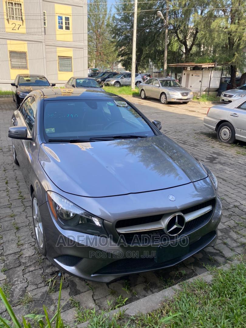 Mercedes-Benz CLA-Class 2015 Gray