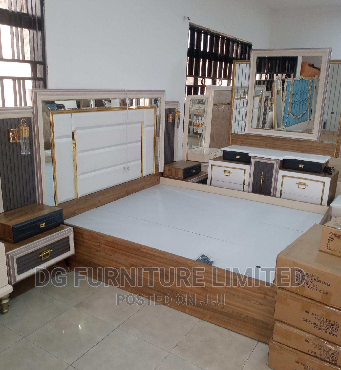 Archive: Classic and Elegant Bed With Bedside and Dresser