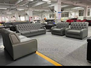 Quality Italy Leather Sofa Chair | Furniture for sale in Lagos State, Lekki