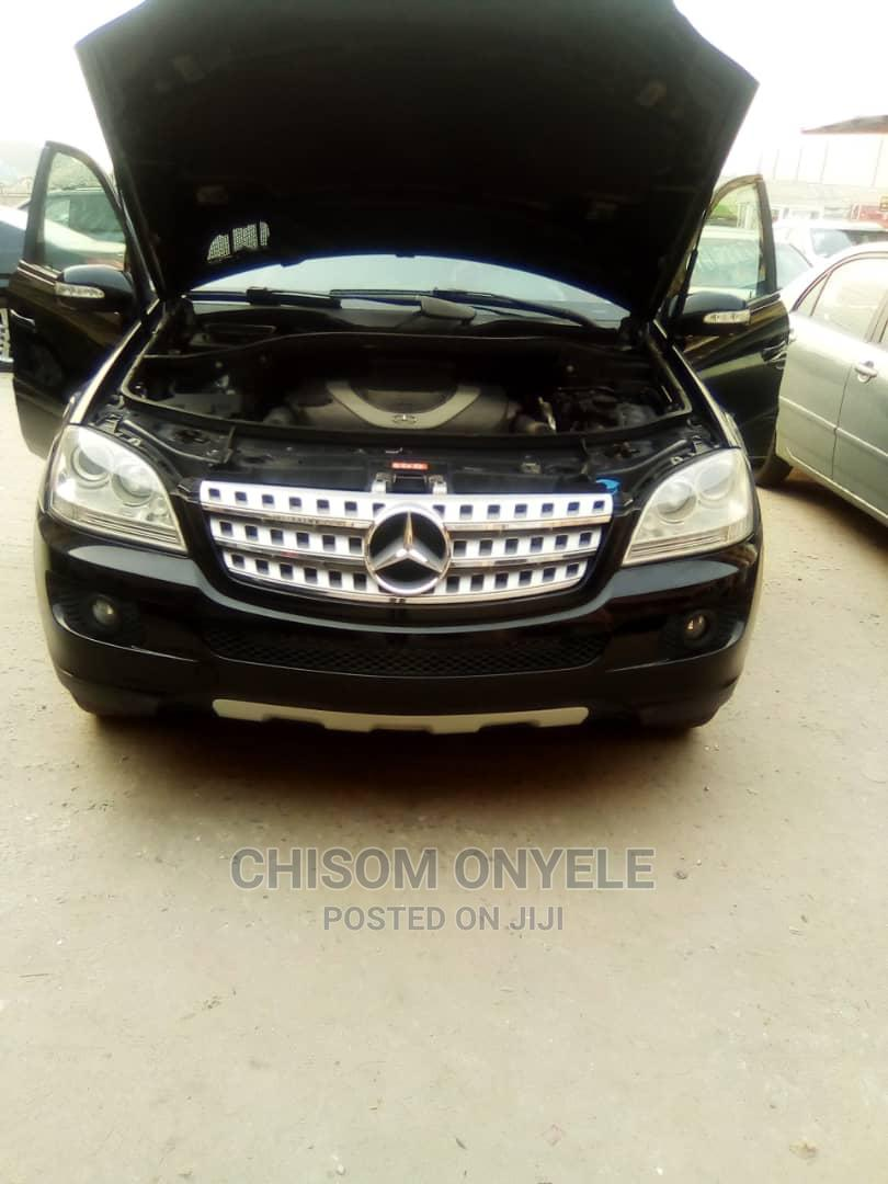 Mercedes-Benz M Class 2007 ML 350 4Matic Gray   Cars for sale in Isolo, Lagos State, Nigeria
