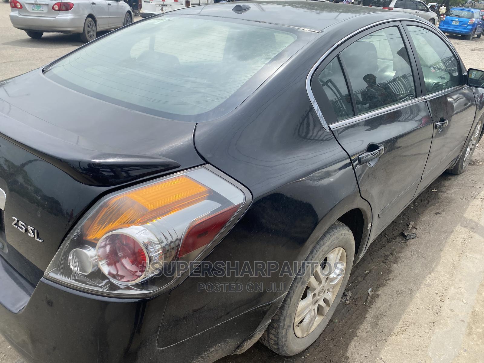 Nissan Altima 2010 2.5 S Sedan Black | Cars for sale in Amuwo-Odofin, Lagos State, Nigeria
