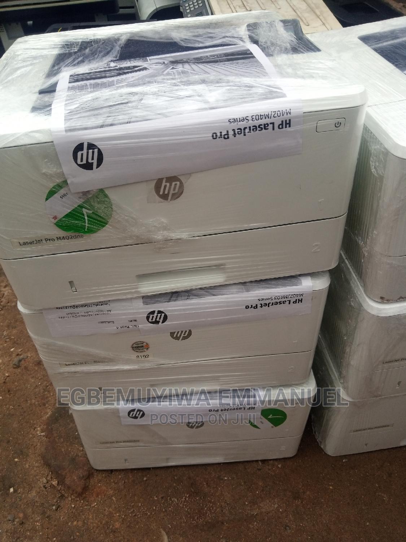 Hp Laserjet Pro M402 Printer Black and White Only
