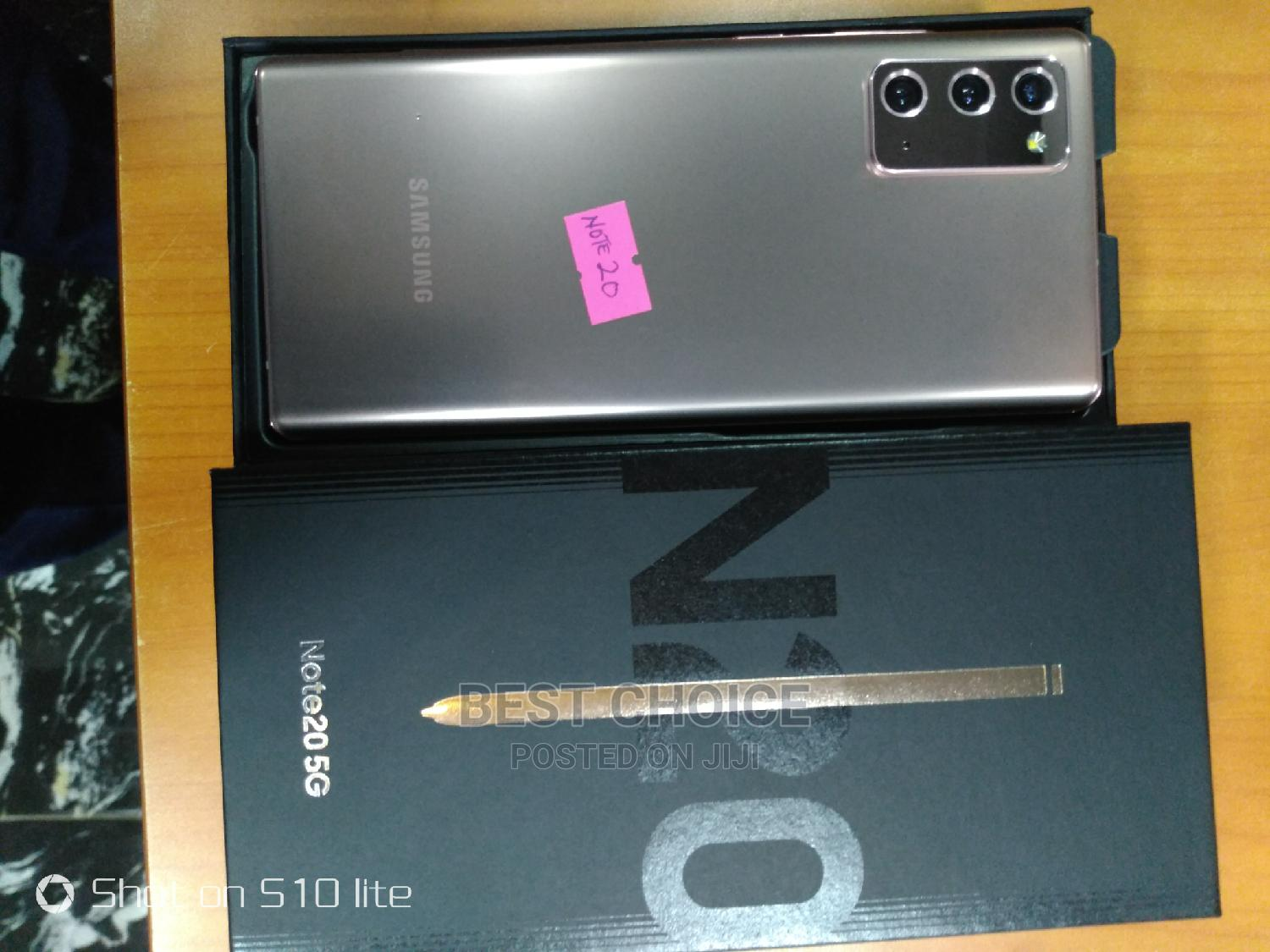 Archive: New Samsung Galaxy Note 20 256 GB Gold