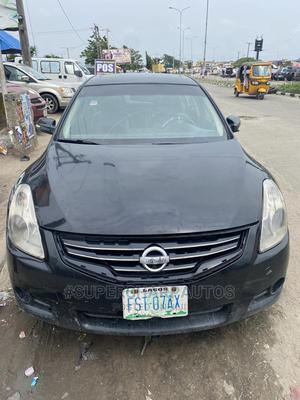 Nissan Altima 2010 2.5 S Sedan Black | Cars for sale in Lagos State, Amuwo-Odofin