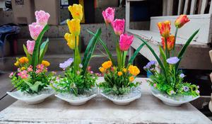 Tulip Table Top Flower | Home Accessories for sale in Lagos State, Ipaja