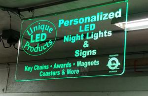 Acrylic Led Sign for Bussiness Shops and Offices. | Arts & Crafts for sale in Lagos State, Ikeja