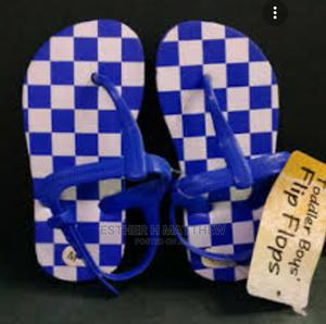 Blue and White Children Slippers | Children's Shoes for sale in Lagos State, Mushin