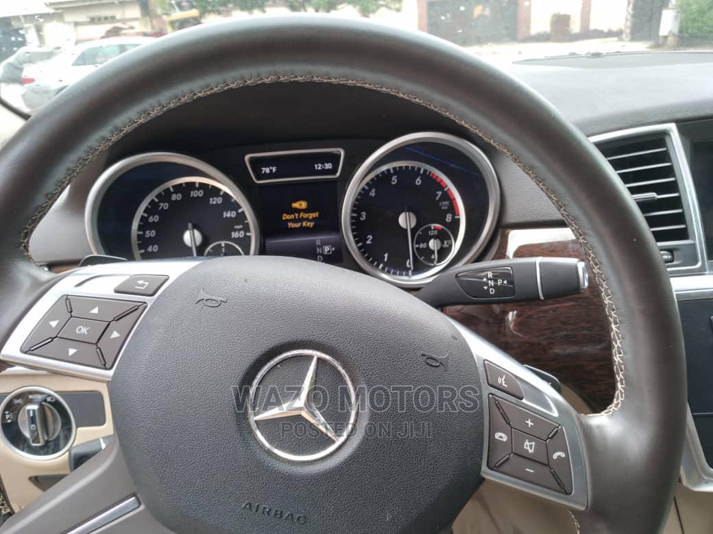 Mercedes-Benz M Class 2015 Blue   Cars for sale in Amuwo-Odofin, Lagos State, Nigeria