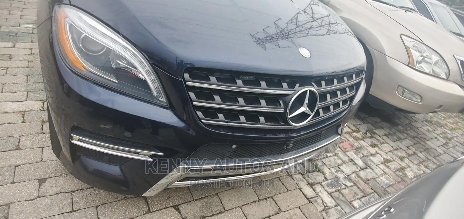 Mercedes-Benz M Class 2014 Blue   Cars for sale in Lekki, Lagos State, Nigeria