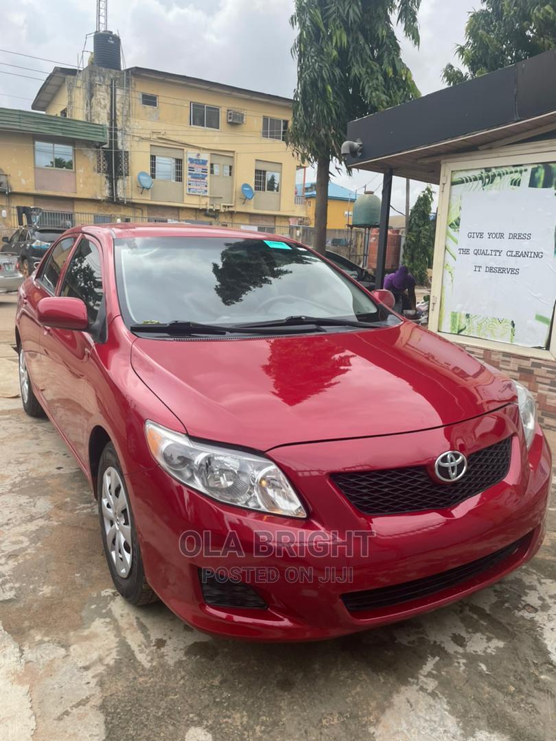 Toyota Corolla 2010 Red | Cars for sale in Ejigbo, Lagos State, Nigeria