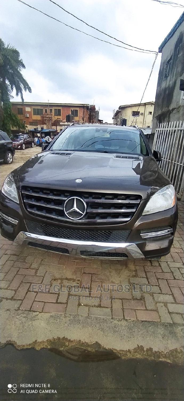 Mercedes-Benz M Class 2014 Brown