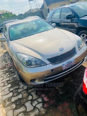 Lexus ES 2005 330 Gold | Cars for sale in Lagos State, Ikorodu
