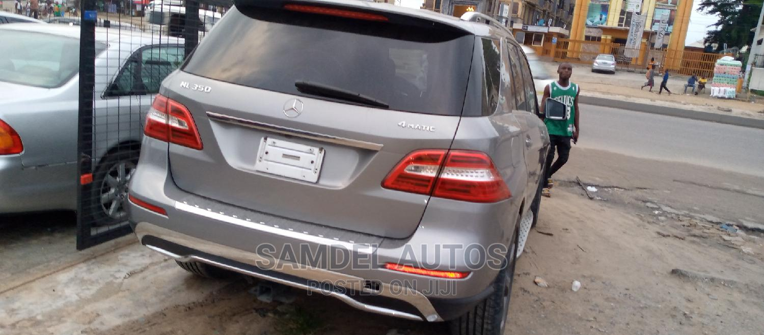 Mercedes-Benz M Class 2014 Gray | Cars for sale in Ajah, Lagos State, Nigeria