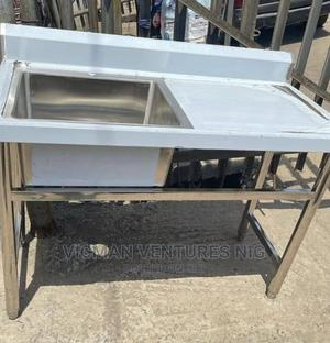 Self Standing Commercial Kitchen Sink | Restaurant & Catering Equipment for sale in Lagos State, Ojo