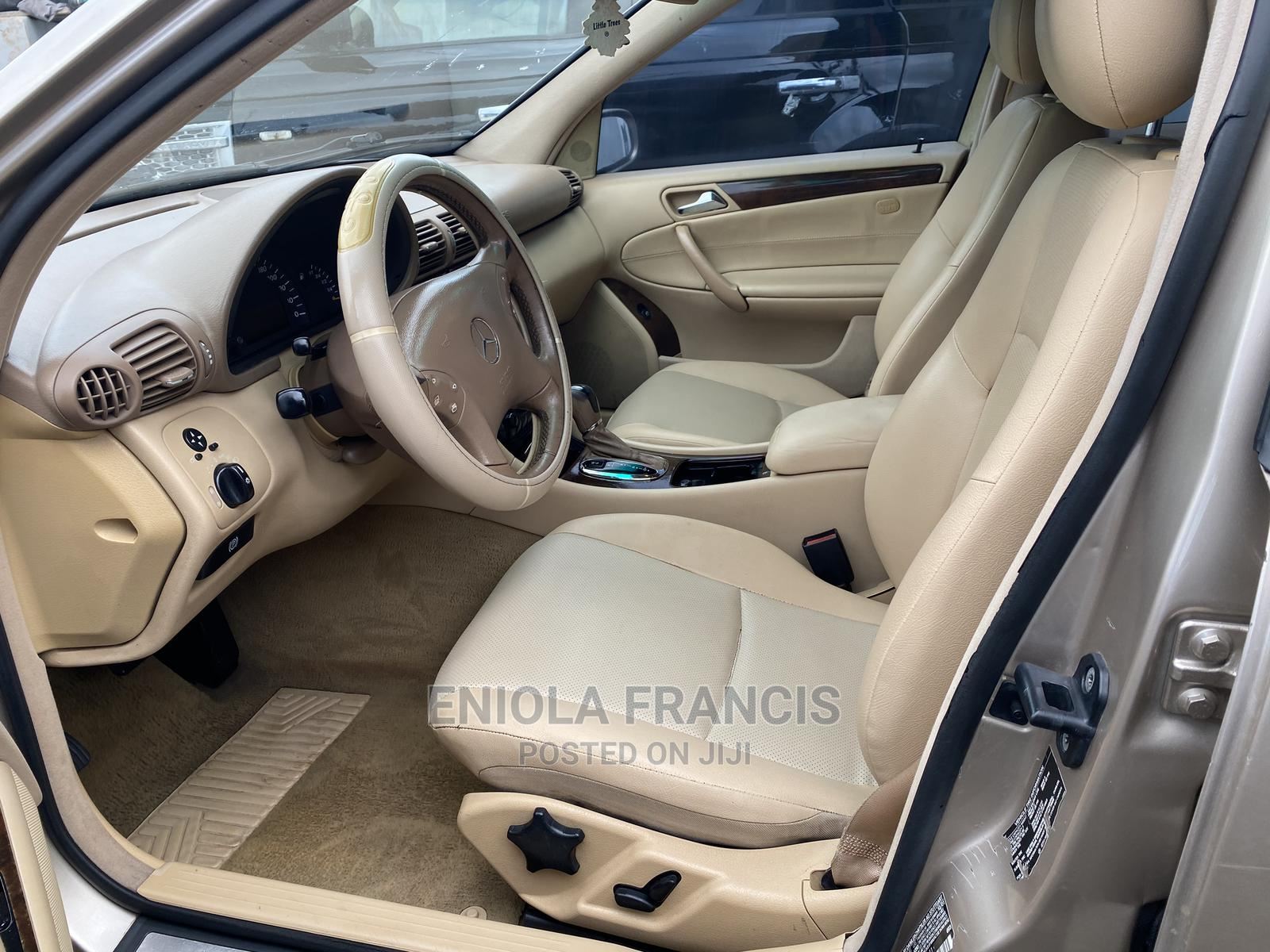 Mercedes-Benz C240 2002 Gold   Cars for sale in Ikeja, Lagos State, Nigeria