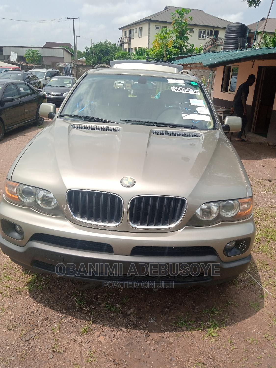 BMW X5 2006 Gold   Cars for sale in Alimosho, Lagos State, Nigeria