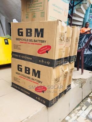 12v 210ah Gbm Battery | Solar Energy for sale in Enugu State, Enugu