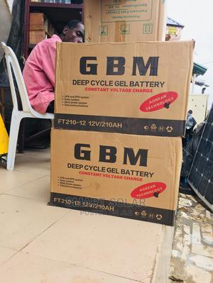 Gbm Battery 210ah 12v | Solar Energy for sale in Lagos State, Ajah