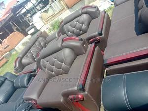 Brand New Leather Sofa Chairs   Furniture for sale in Lagos State, Ojo