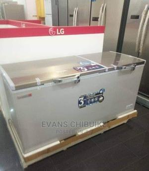 Brand New Scanfrost Double Door Freezer | Kitchen Appliances for sale in Lagos State, Ojo