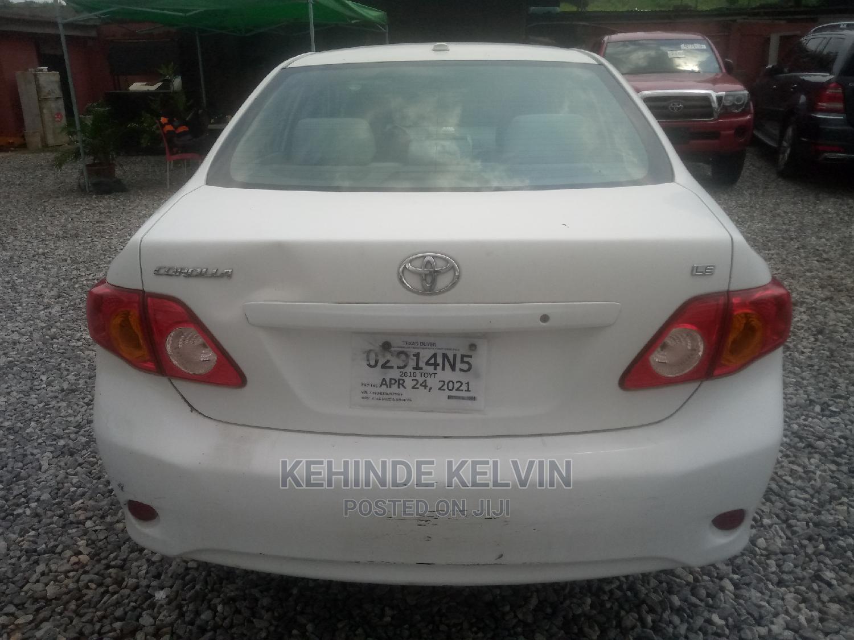 Toyota Corolla 2010 White   Cars for sale in Ojodu, Lagos State, Nigeria