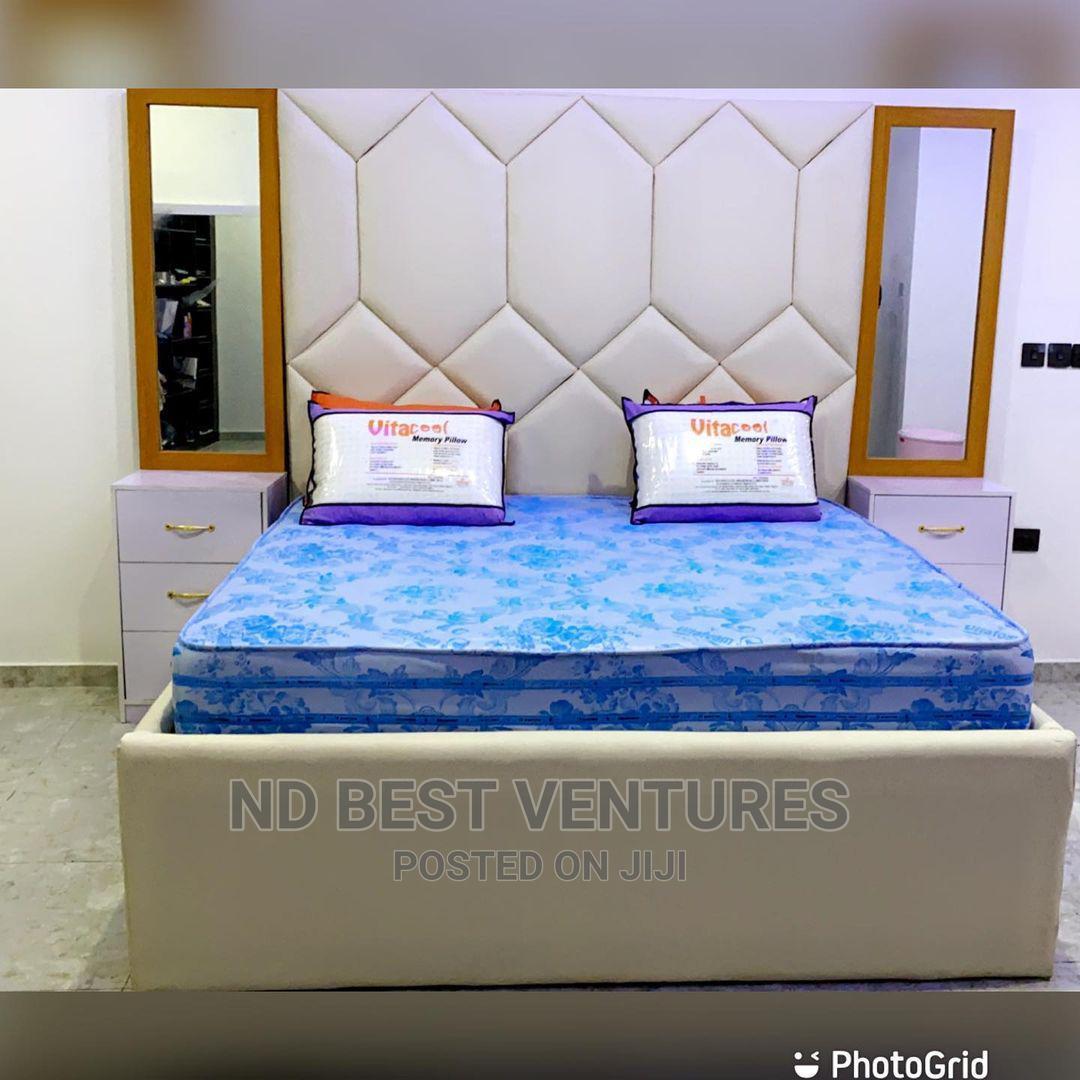 Vip Modern Bedframe | Furniture for sale in Lekki, Lagos State, Nigeria