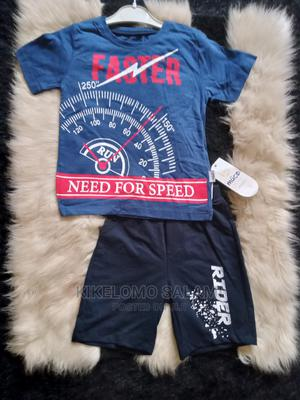 Blue T-Shirt and Shorts | Children's Clothing for sale in Lagos State, Alimosho