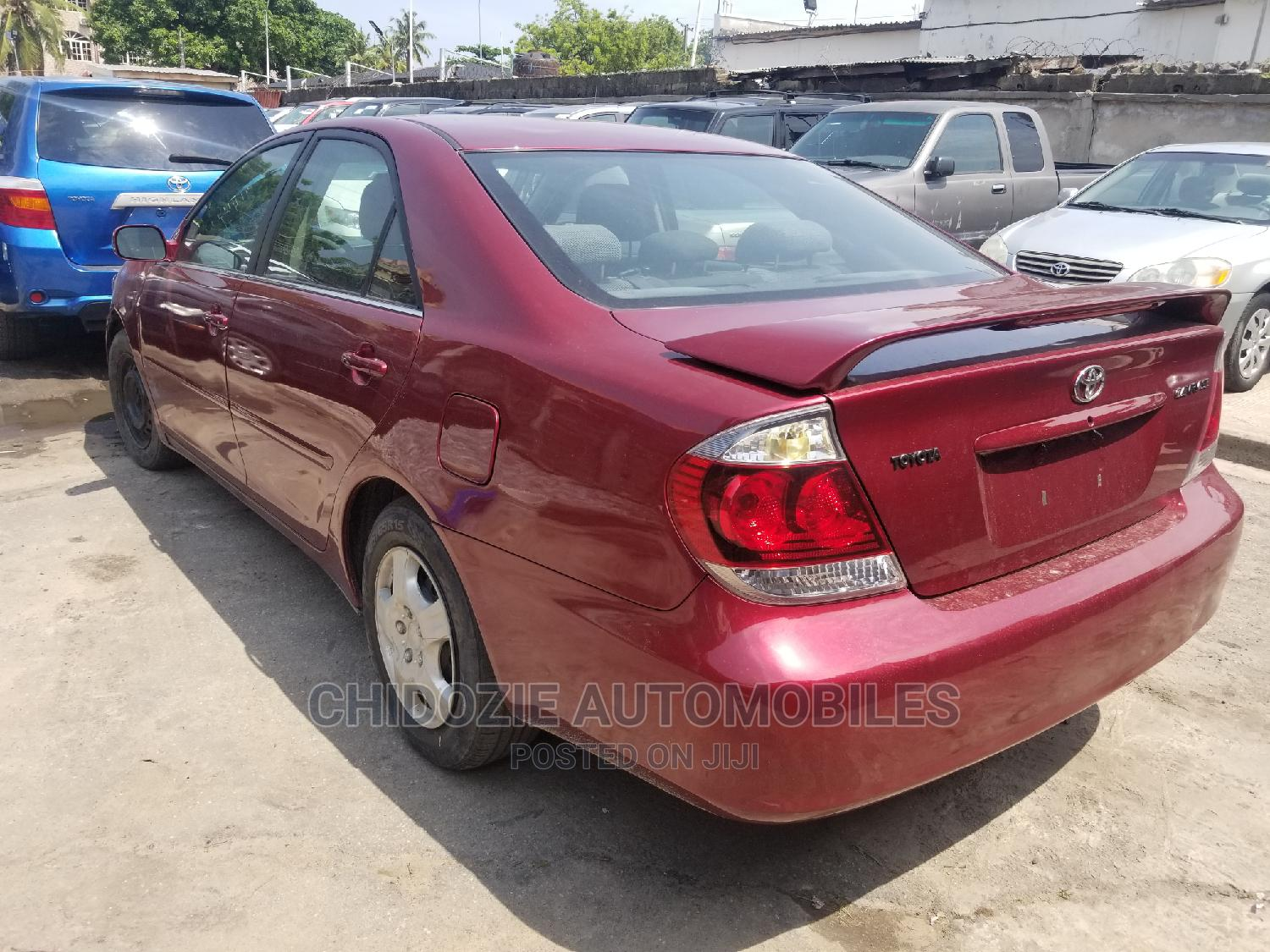 Toyota Camry 2006 Red   Cars for sale in Amuwo-Odofin, Lagos State, Nigeria