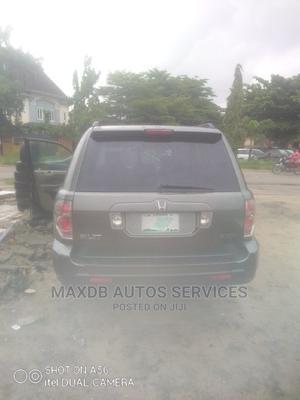 Honda Pilot 2008 Gray | Cars for sale in Lagos State, Amuwo-Odofin