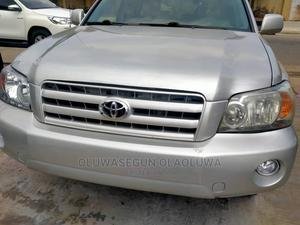 Toyota Highlander 2005 4x4 Silver | Cars for sale in Lagos State, Ikeja
