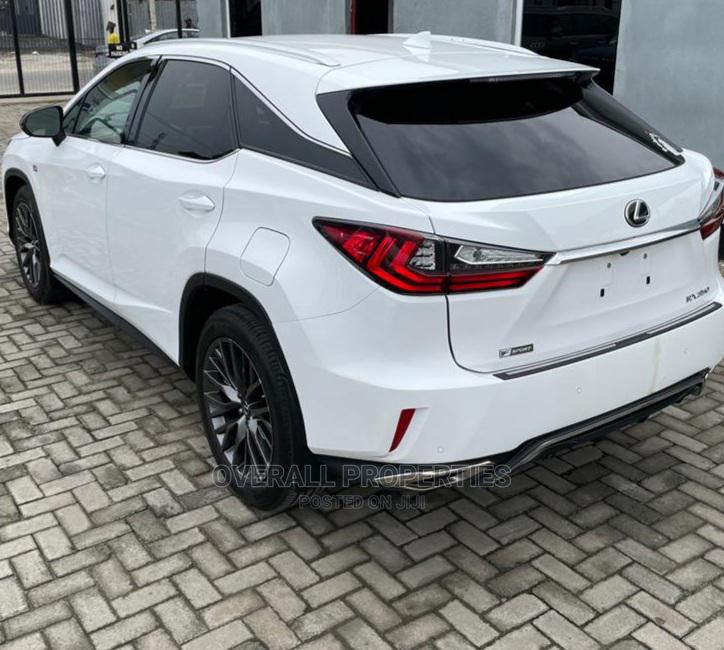 Lexus RX 2017 350 F Sport AWD White   Cars for sale in Lekki, Lagos State, Nigeria