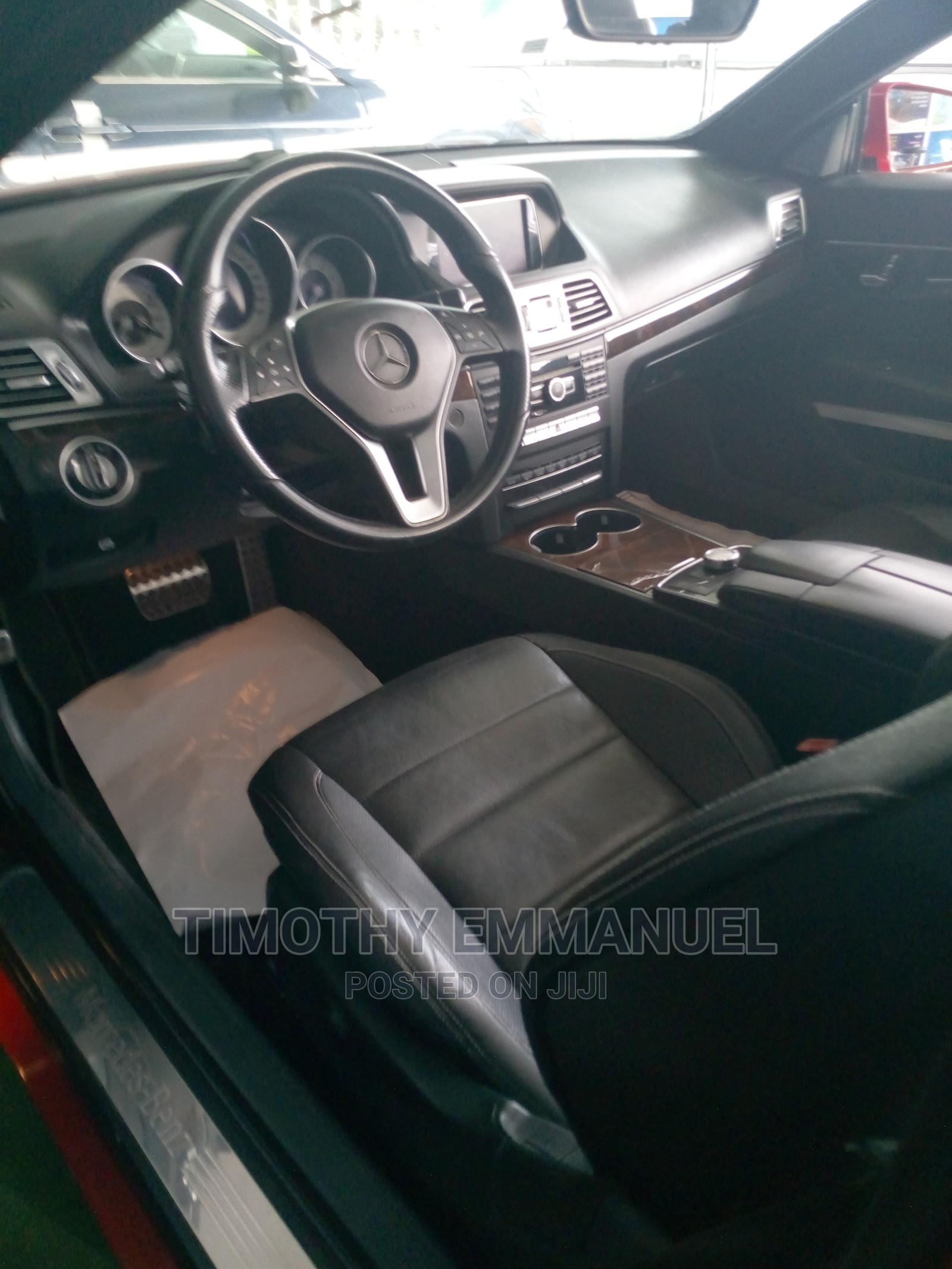 Archive: Mercedes-Benz E350 2014 Red