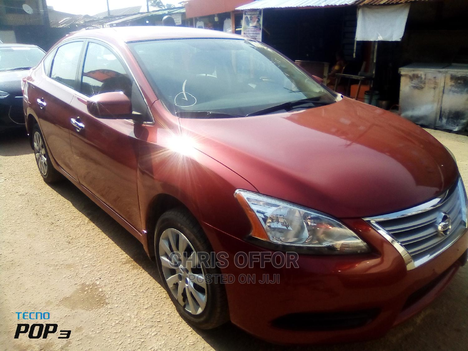 Nissan Sunny 2014 Red