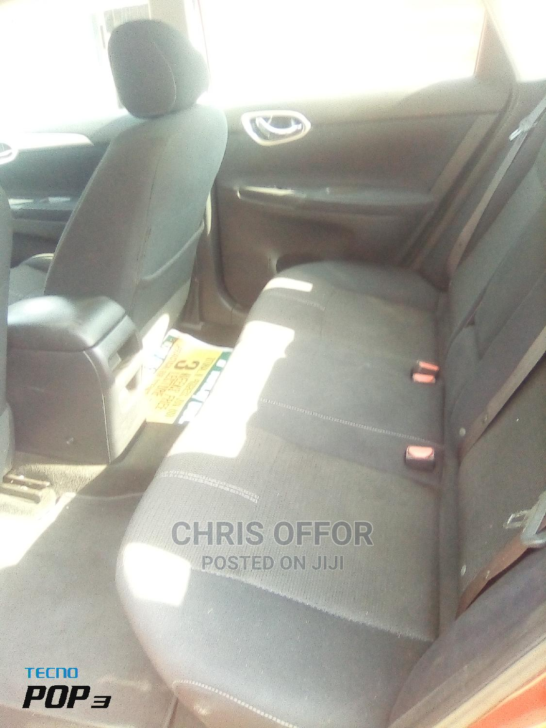 Nissan Sunny 2014 Red | Cars for sale in Yaba, Lagos State, Nigeria
