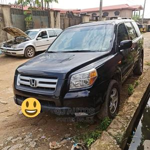 Honda Pilot 2006 EX 4x2 (3.5L 6cyl 5A) Black | Cars for sale in Lagos State, Ojodu