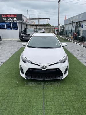Toyota Corolla 2019 SE (1.8L 4cyl 2A) White | Cars for sale in Lagos State, Lekki