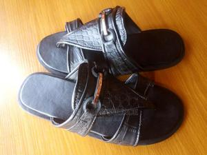High Quality Men Leather Slippers | Shoes for sale in Lagos State, Ajah