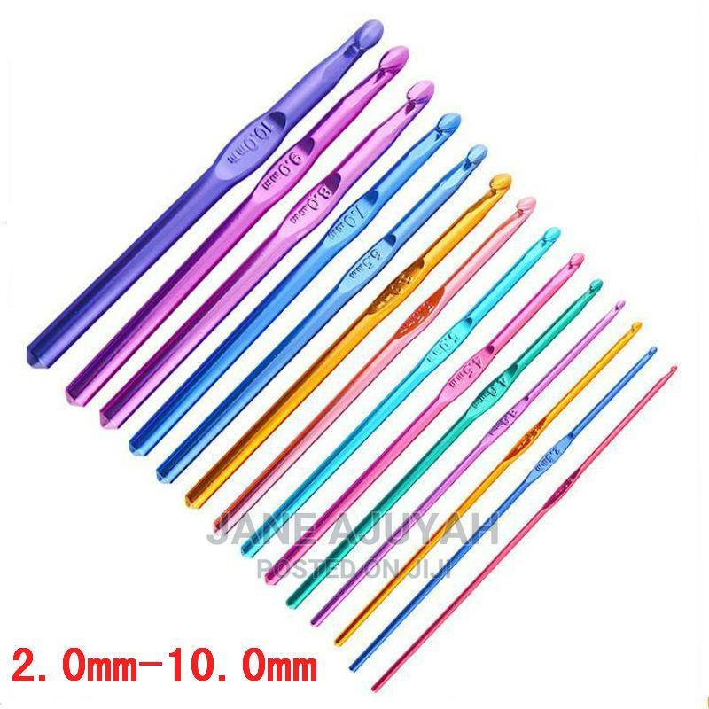 Crochet Hooks Set 14 Sizes Knitting Needles(2mm-10mm)